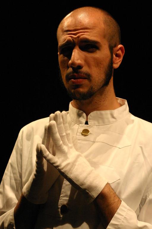 """Dicembre 2005 - """"Le Smanie per la Villeggiatura""""  al Teatro del Parco Tiburtino : Gianluca Reina"""