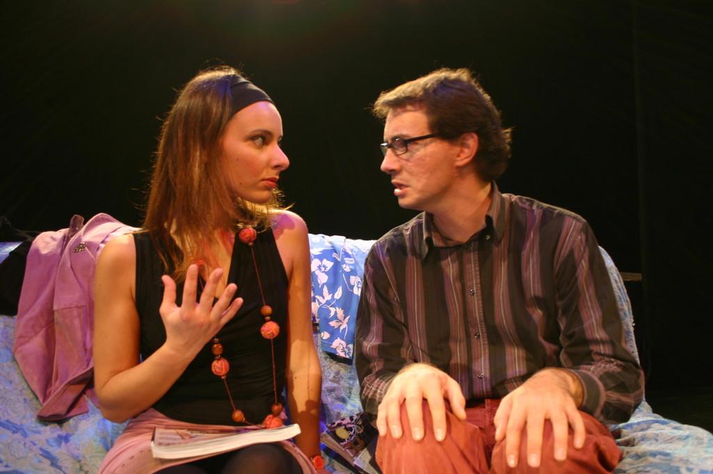 """Ottobre 2006 - """"My Fair Boy"""" al Teatro del Parco Tiburtino: Ilenia Cerioni e Luca MIlesi"""