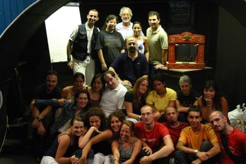 Luglio 2005 - Teatro Elettra - Seminario di Regia con Massimiliano Milesi