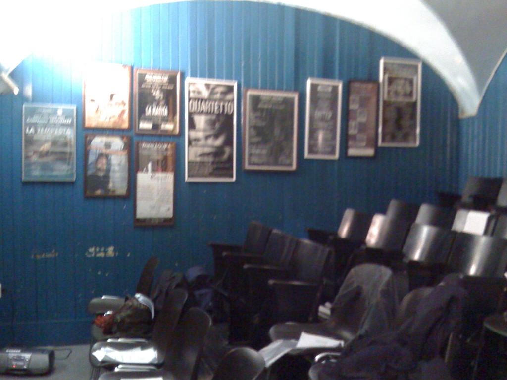 La Platea del Teatro Elettra durante una Lezione