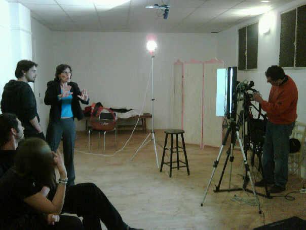 Marzo 2009 -Il Seminario sulla TV con Marco De Pascale per creare la Redazione di AttoriTV