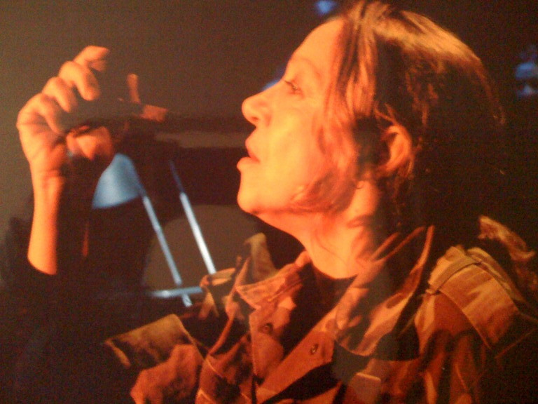 Gennaio 2007 - Teatro del Parco Tiburtino : PLASTICA , Omaggio a Samuel Beckett di Massimiliano Milesi : Carla Aversa