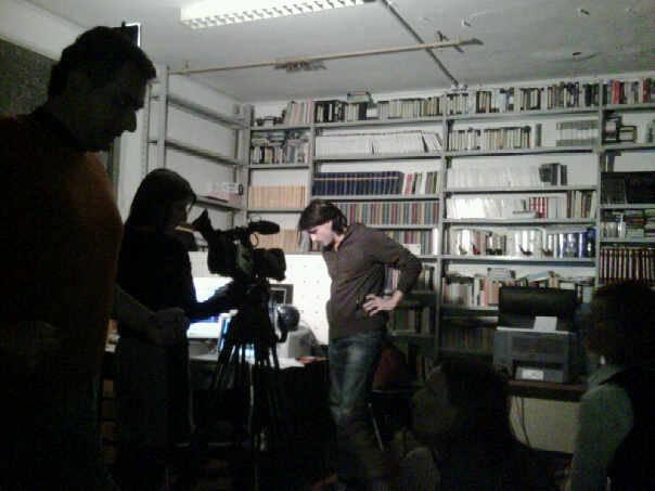 Marzo 2009 - Il Seminario sulla TV con Marco De Pascale per creare la Redazione di AttoriTV
