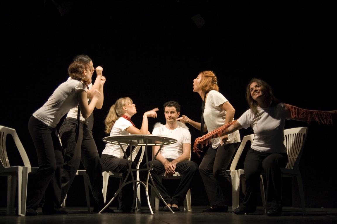 """Teatro del Parco Tiburtino - """"Icaro...Dove Sei?"""" di M.MIlesi - Primo Anno 2005-2006, Regia di G.Licata"""