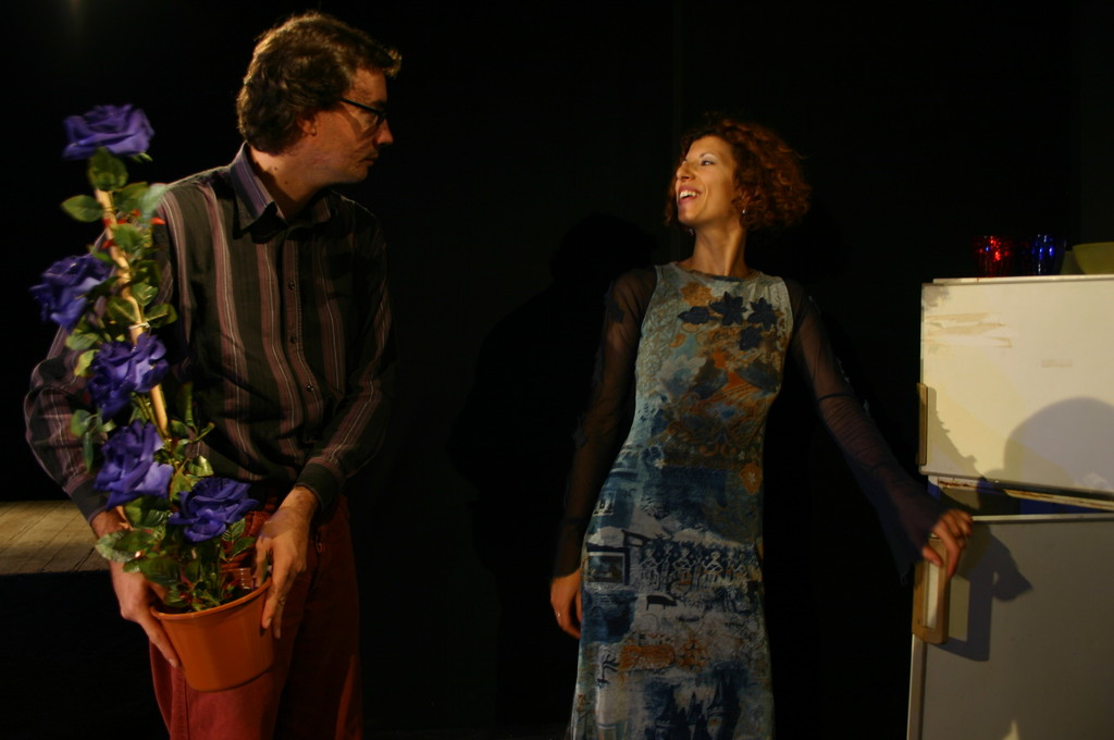 "Ottobre 2006 - ""My Fair Boy"" al Teatro del Parco Tiburtino: Luca MIlesi e Luisa Noli"