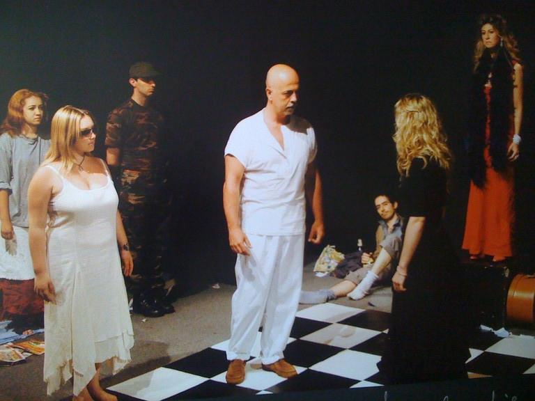 """Giugno 2004 - Teatro AGORA' Saggio """"AGAMENNONE"""" Allievi Secondo Anno"""