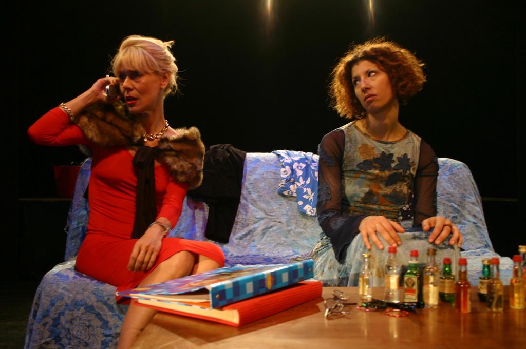 "Ottobre 2006 - ""My Fair Boy"" al Teatro del Parco Tiburtino: Lucilla Landi e Luisa Noli"