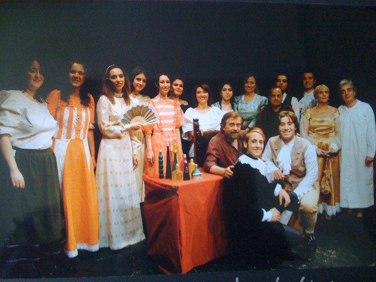 """Giugno 2004 -Teatro AGORA' Saggio Laboratorio """"La Palestra dell'Attore"""""""
