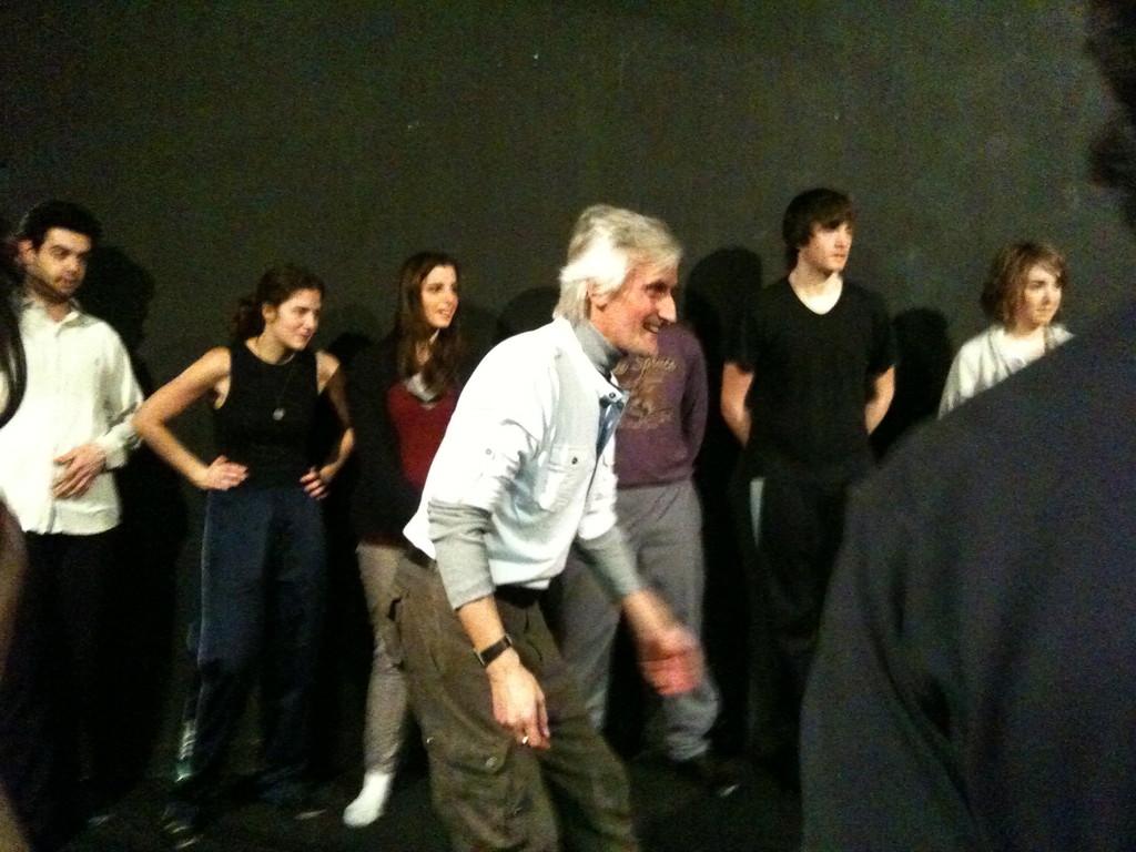 Marzo 2011 , Stage di Cesar Corrales al Teatro Agorà