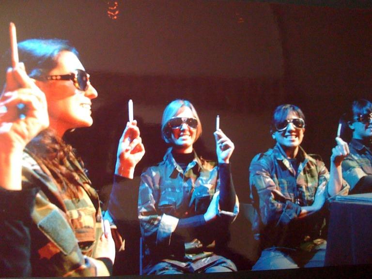 Gennaio 2007 - Teatro del Parco Tiburtino : PLASTICA , Omaggio a Samuel Beckett di Massimiliano Milesi