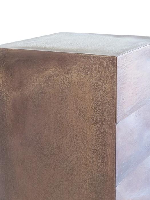 Oberfläche Bronze