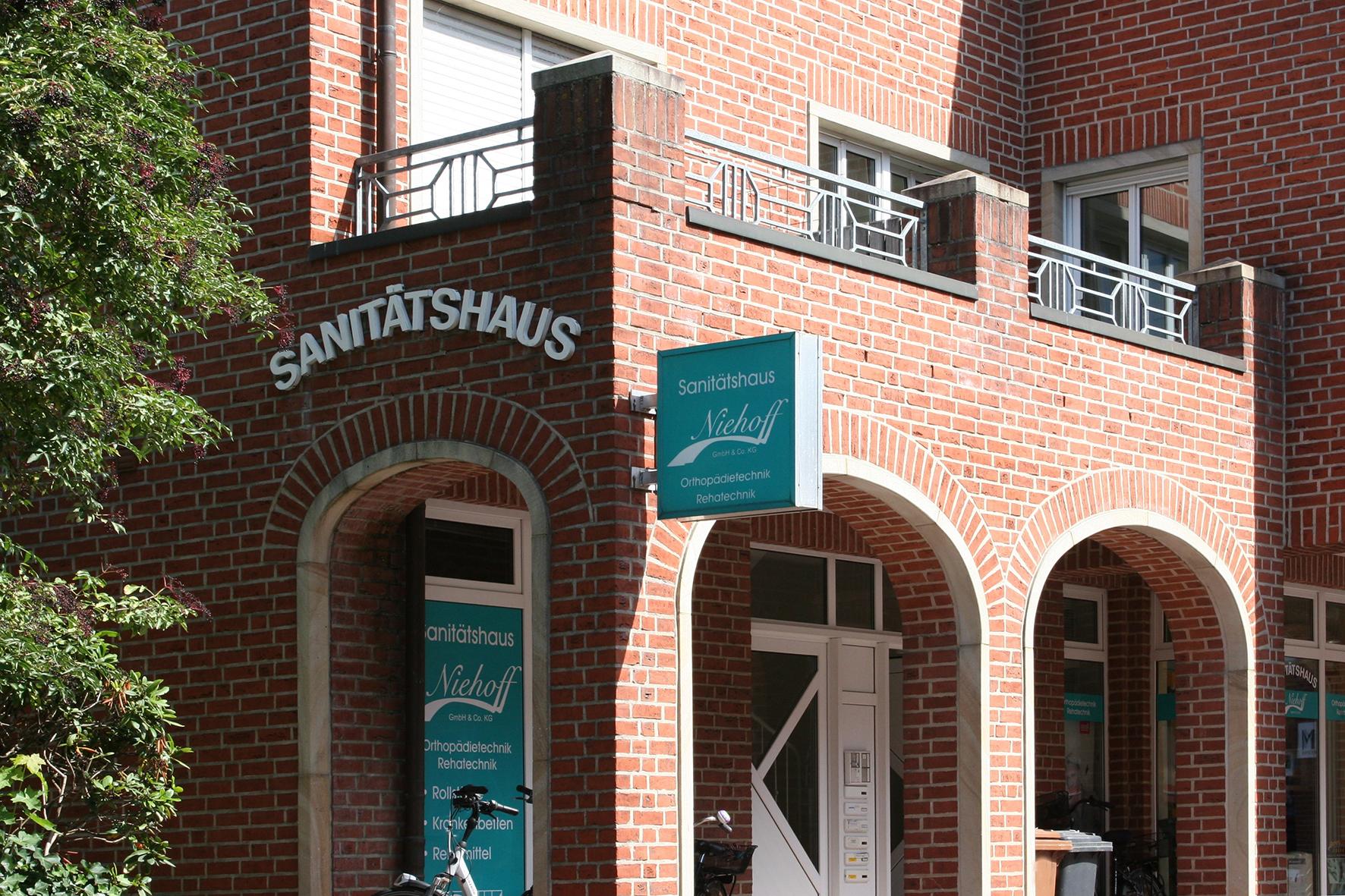 Sanitätshaus Niehoff, Nebeneingang