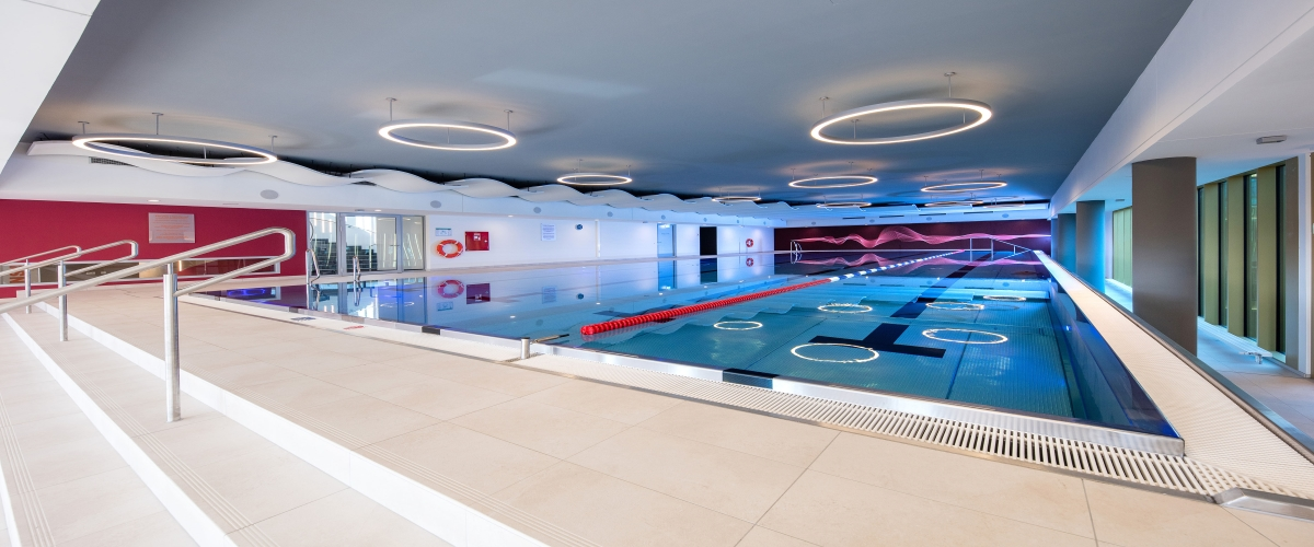 Pool im body + soul Center, München - Sendling