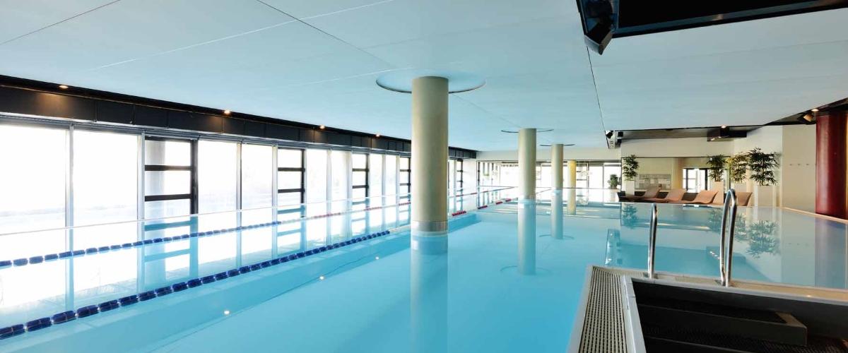 Pool im body + soul Center, München - Englischer Garten