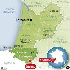 Situation de Laruns - Pyrénées - Sud-Ouest - www.le-refuge-des-marmottes.com