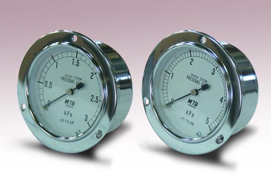ガス圧力計