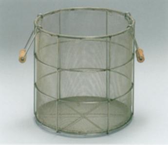 【チャフ受カゴ】10kg以上のロースターの排気サイクロンの下に置き、チャフをとるものです。ステンレス製なので耐久性も抜群です。