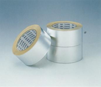【アルミテープ 25/50/100mm幅】煙突の継ぎ目に貼るテープです。アルミですので耐熱性が高く強粘着タイプです。