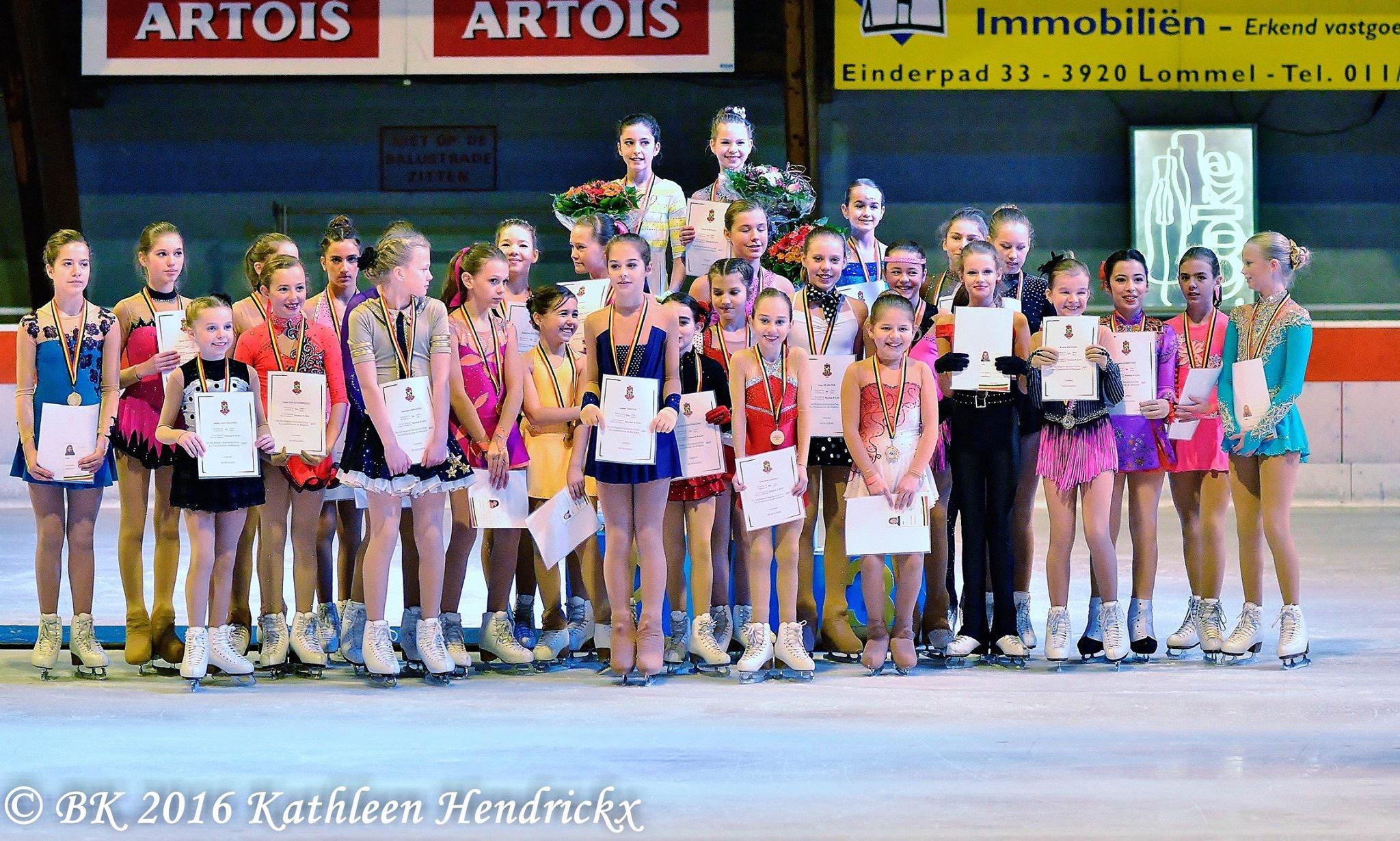 Belgisch Kampioenschap 1ste plaats A