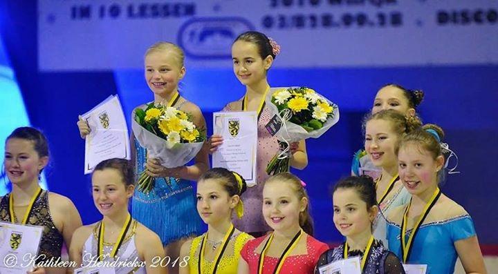 Vlaams Kampioenschap 2018 1ste plaats Novice A