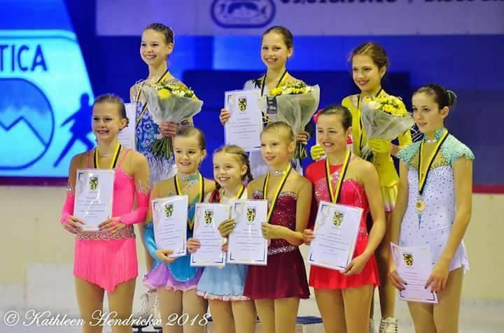 Vlaams Kampioenschap 2018 2de plaats Adv Nov U13
