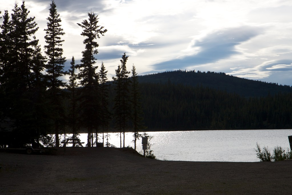 Campground mit Wasseranschluss - Frenchman Lake