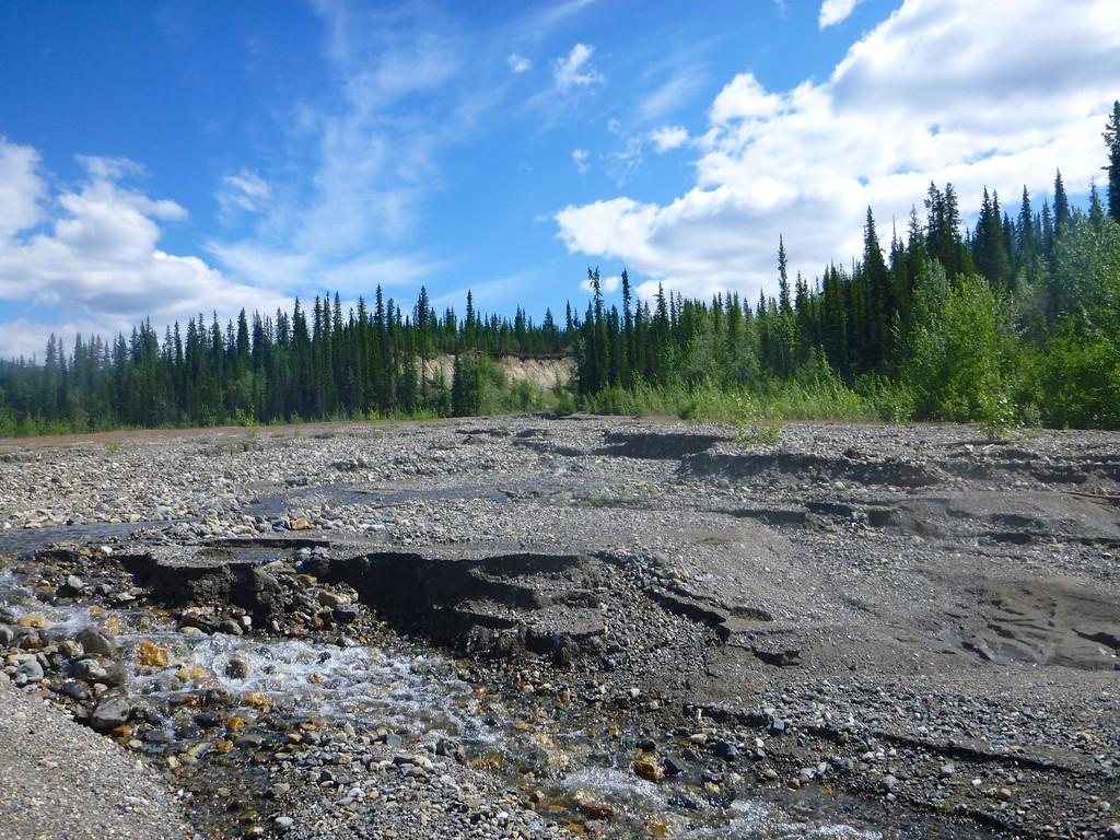 das large gravel deposit