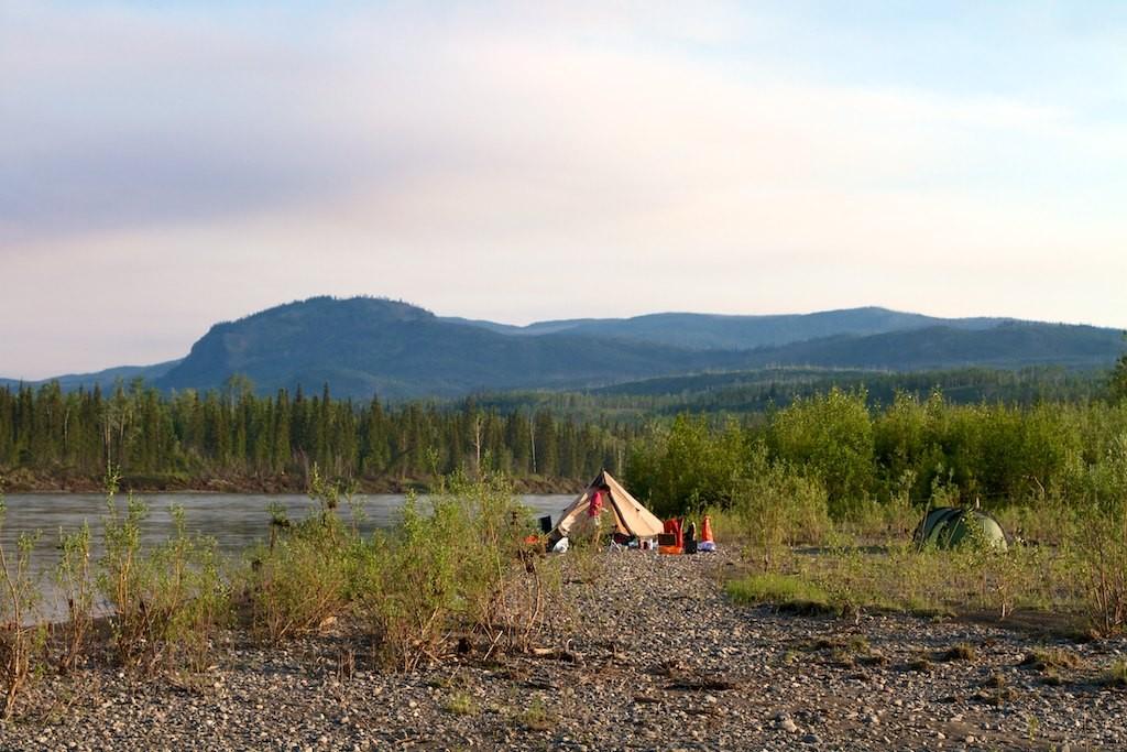 Das Camp war gut, wenn die Mücken nicht gewesen wären