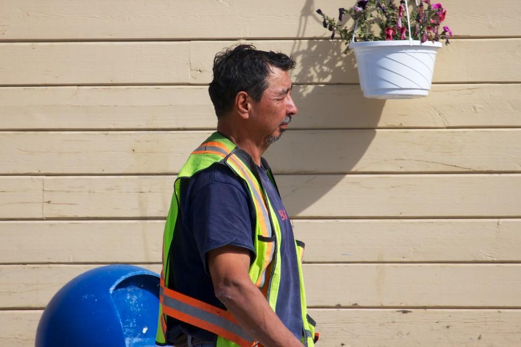Dawsoner Bauarbeiter, es gibt viel zu tun.