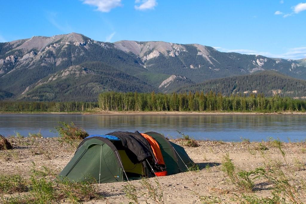 Abends finden wir ein herrliches Camp.