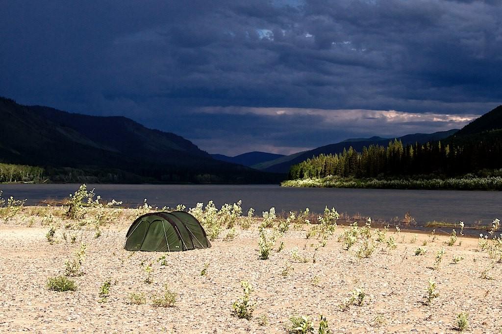 Ein wechselhaftes Camp