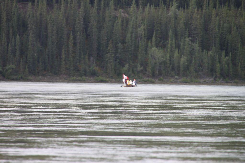 Yukon River Quest Kämpfer im Drachenboot