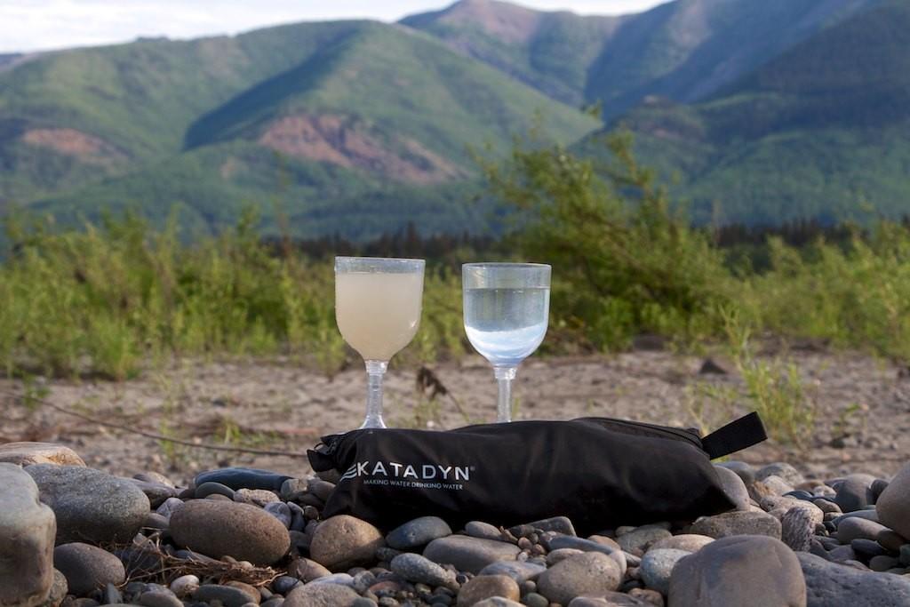 Yukon Wasser und gefiltertes Trinkwasser