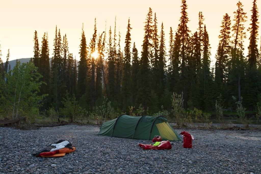 Auch das erste Camp ist herrlich!