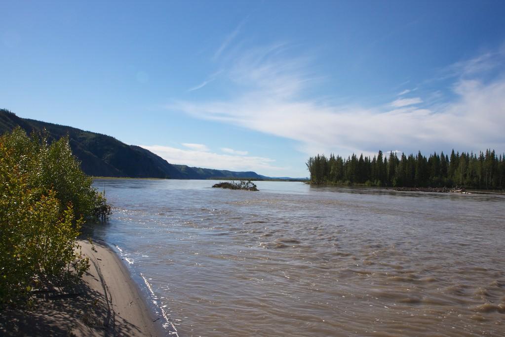 Da teilt sich der Yukon mal wieder.