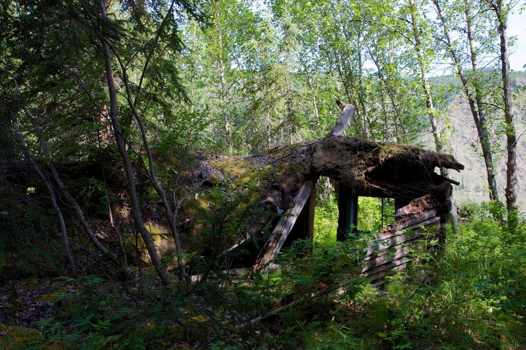 So sehen 100 Jahre alte Hütten ohne Pflege aus.