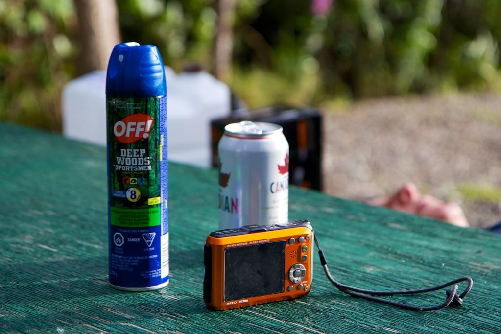 Wichtig! Off, Bier und Kamera