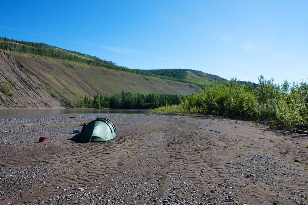 Schönes Wetter, schönes Camp, so muss der Tag anfangen.