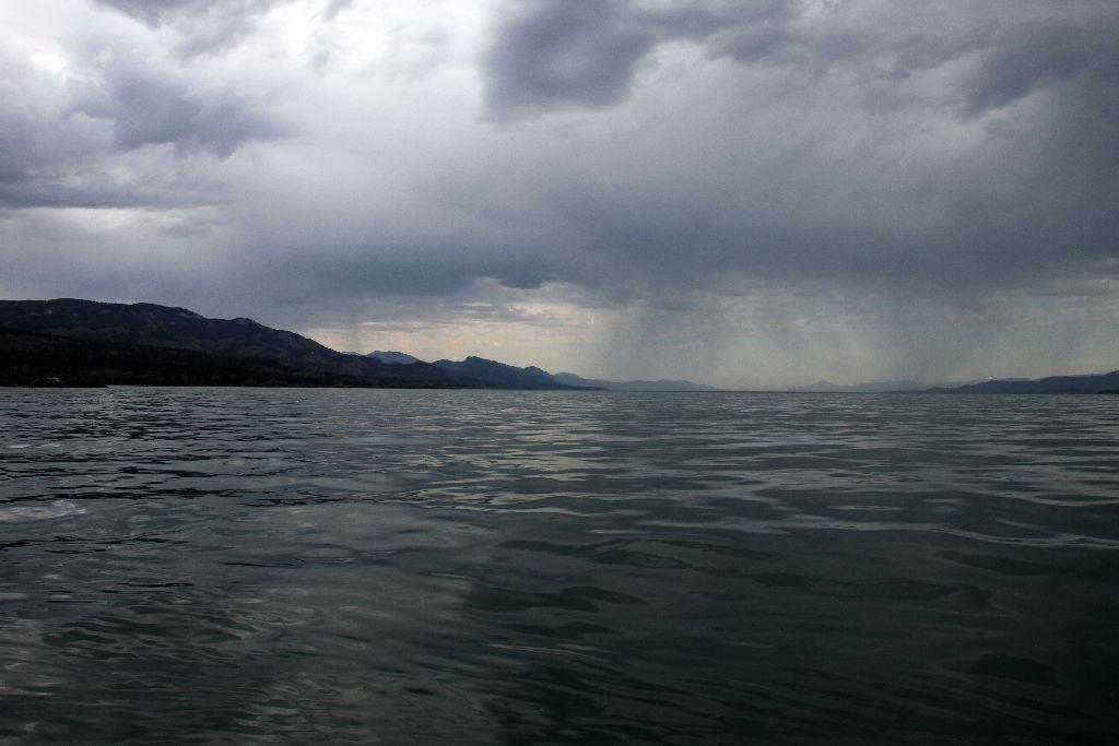 Das Wetter kippt