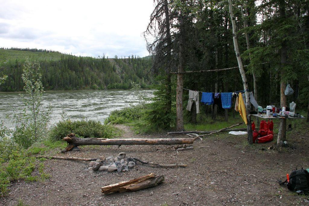 Unser Camp am Abend