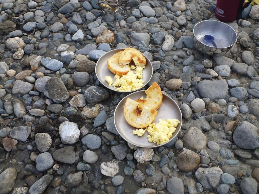 Erst mal ein gutes Frühstück!