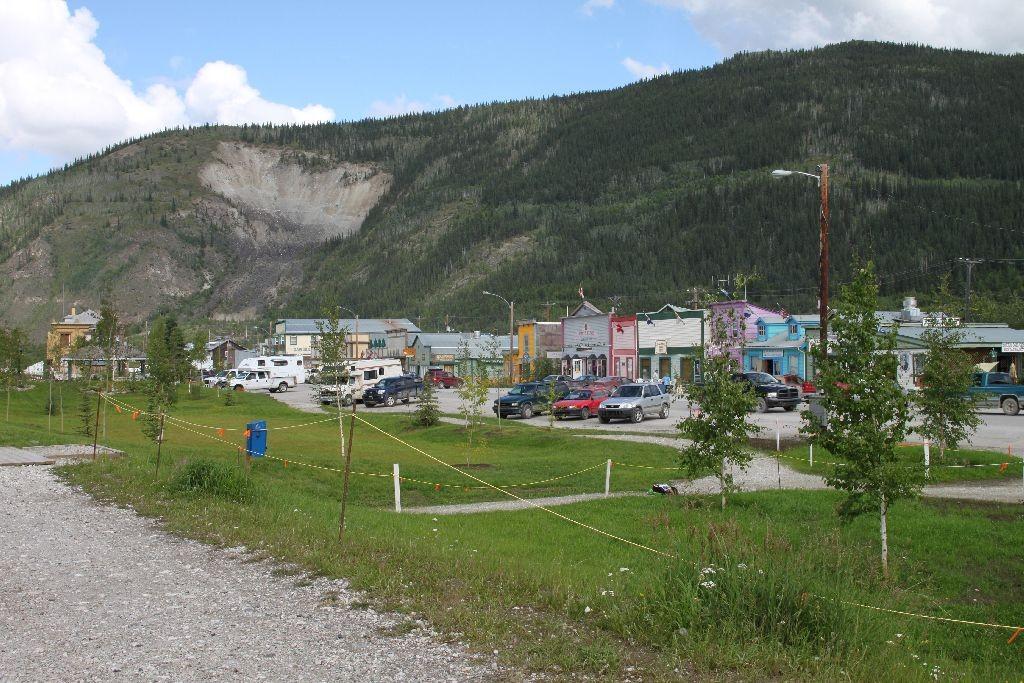 Dawson City Front Street