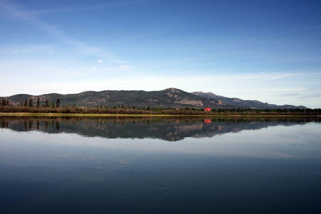 So ruhig kann der Yukon sein
