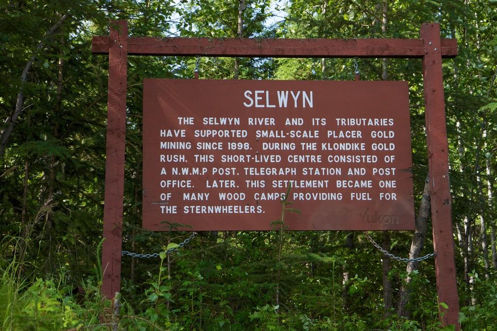 Selwyn, ehemaliges Holzcamp, jetzt für Touristen.