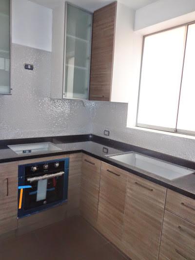 Muebles de cocina decoracion de interiores for Colores de granito negro