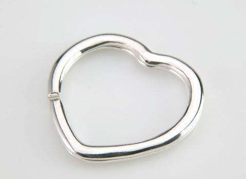 Brisè argento a cuore