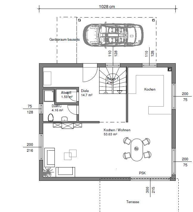 Das Fingerhaus Angebot - 1. Wurf - Unser Weg zum Haus