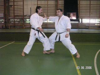 Con Pascal Petrela (Alemania)