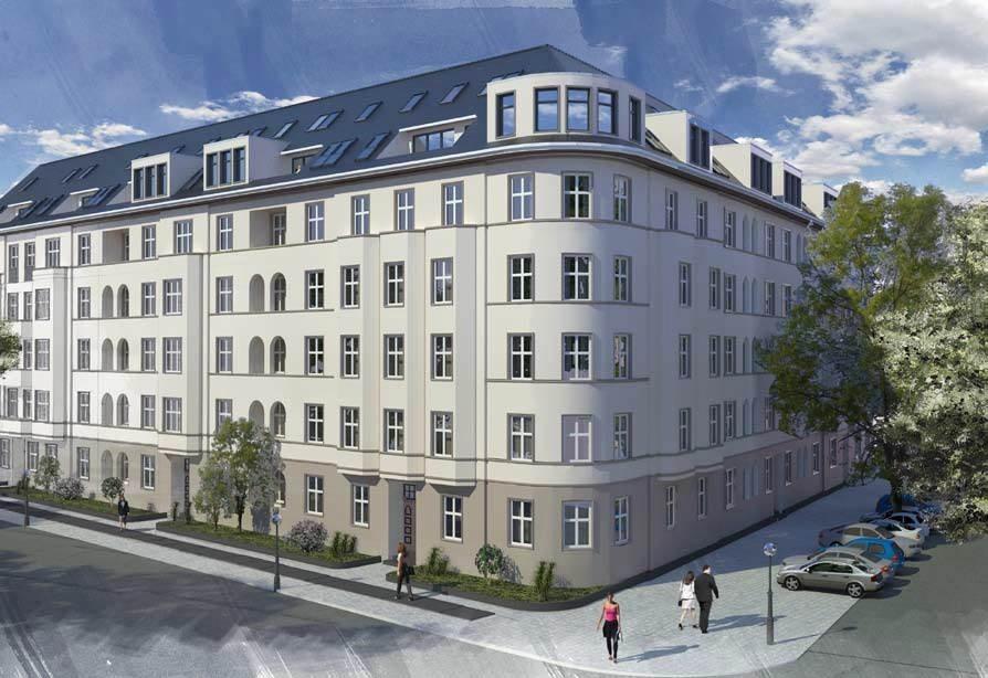 Gebäudeensemble in Berlin (Altbau)