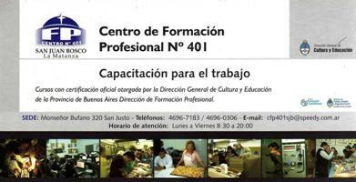 CENTRO DE FORMACION PROFESIONAL 401